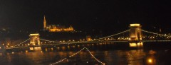 Chain Bridge over Danube River